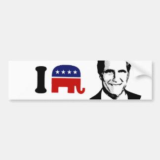 I Love Mitt Romney 2 Bumper Sticker