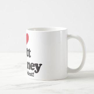 I Love Mitt Romney for President Classic White Coffee Mug
