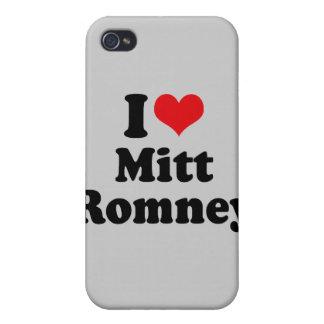 I LOVE MITT ROMNEY iPhone 4/4S CASE