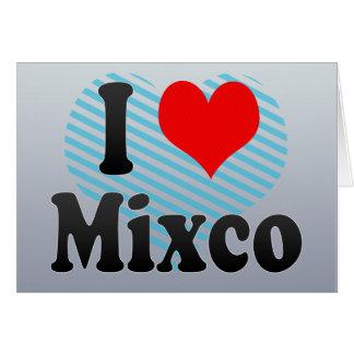 I Love Mixco, Guatemala Card