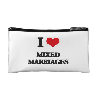 I Love Mixed Marriages Makeup Bags