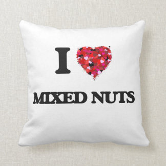 I love Mixed Nuts Throw Pillows