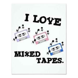 I Love Mixed Tapes Card