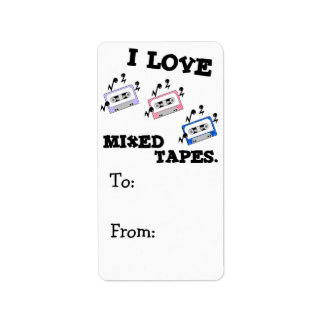 I Love Mixed Tapes Label
