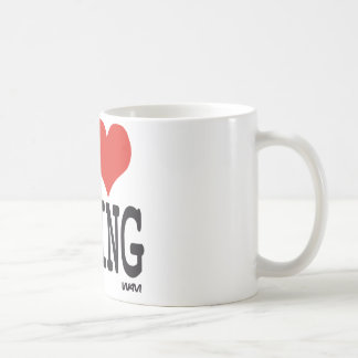 I LOVE MIXING COFFEE MUG