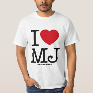 I LOVE MJ T-Shirt
