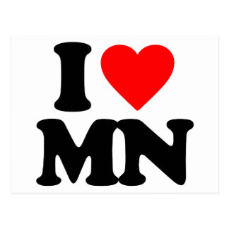 I LOVE MN POST CARDS