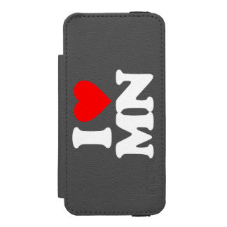 I LOVE MN WALLET CASE FOR iPhone SE/5/5s
