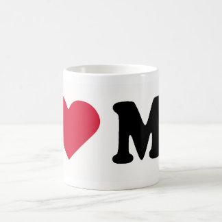 I LOVE MO COFFEE MUG