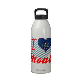 I Love Moab, Utah Water Bottles