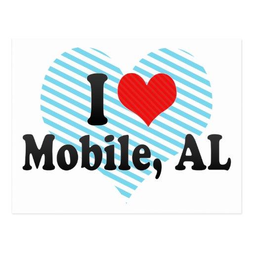 I Love Mobile, AL Post Card