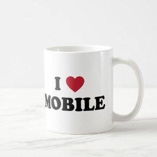 I Love Mobile Alabama Classic White Coffee Mug