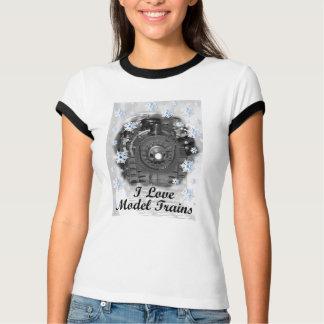 I Love Model Trains T-Shirt