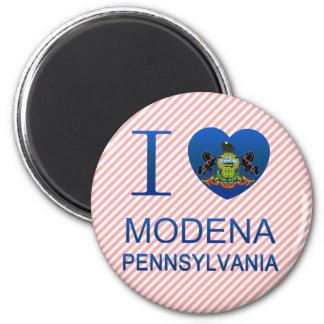 I Love Modena, PA Refrigerator Magnets