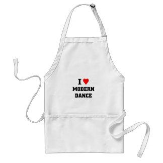 I love Modern Dance Adult Apron