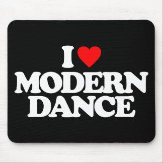 I LOVE MODERN DANCE MOUSE PAD