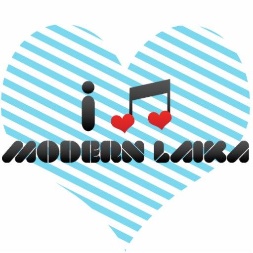 I Love Modern Laika Photo Cutouts