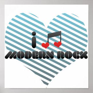 I Love Modern Rock Poster