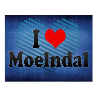 I Love Moelndal, Sweden Postcard