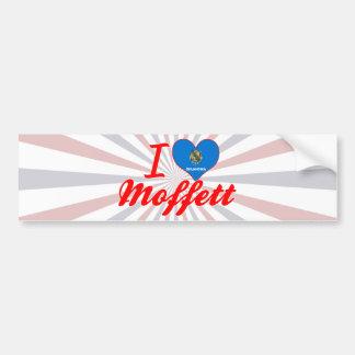I Love Moffett, Oklahoma Car Bumper Sticker