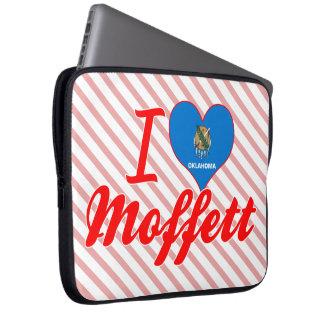 I Love Moffett Oklahoma Laptop Sleeves