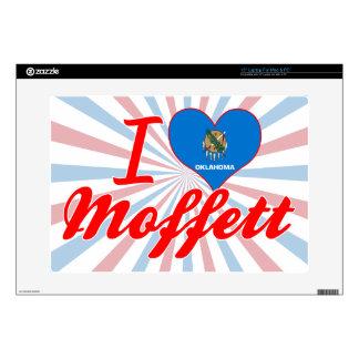 """I Love Moffett Oklahoma Skins For 15"""" Laptops"""