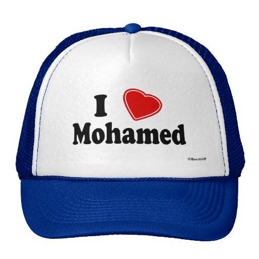 I Love Mohamed Mesh Hat