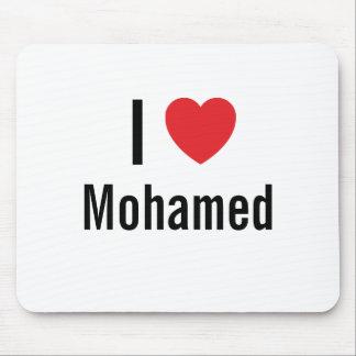 I love Mohamed Mouse Pads