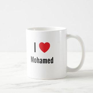 I love Mohamed Coffee Mugs