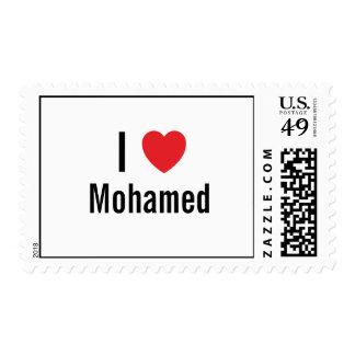 I love Mohamed Stamps