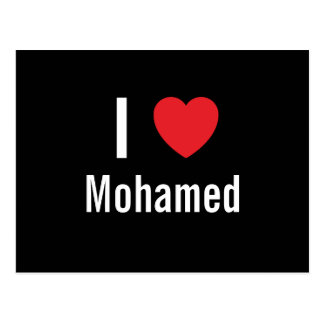 I love Mohamed Post Card