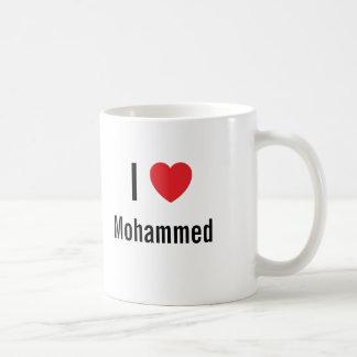 I love Mohammed Classic White Coffee Mug