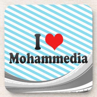 I Love Mohammedia, Morocco Drink Coasters