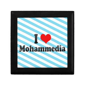 I Love Mohammedia, Morocco Trinket Box