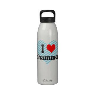 I Love Mohammedia, Morocco Water Bottle