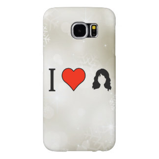 I Love Mohawk Hairstyle Samsung Galaxy S6 Cases