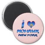 I love Mohawk, New York Fridge Magnet