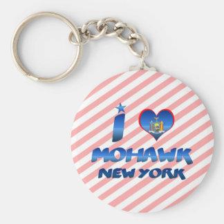 I love Mohawk, New York Keychain