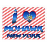 I love Mohawk, New York Post Card