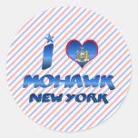 I love Mohawk, New York Sticker