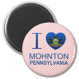 I Love Mohnton PA Fridge Magnets