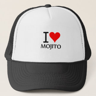I Love Mojito 2 Trucker Hat