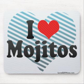 I Love Mojitos Mouse Pad