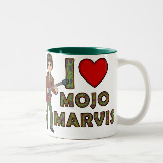 I Love Mojo Marvis Two-Tone Coffee Mug