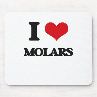 I Love Molars Mouse Pad
