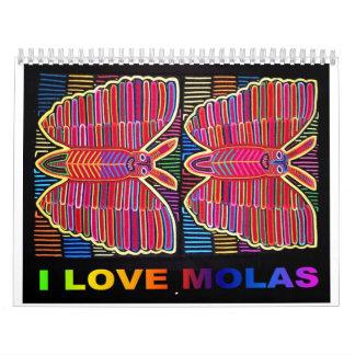 I LOVE MOLAS 2013 CALENDAR
