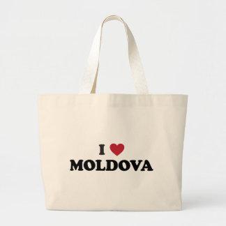 I Love Moldova Bags