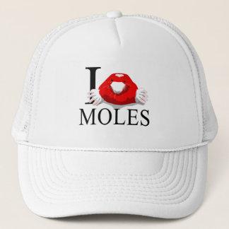 I Love Moles Caps