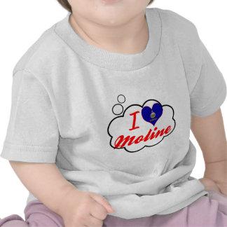 I Love Moline Kansas Shirt