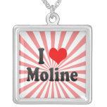 I Love Moline, United States Pendants